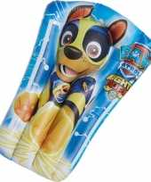 Paw patrol opblaasbaar luchtbed chase 65 x 40 cm kids speelgoed trend