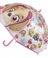 Paw patrol paraplu roze voor meisjes trend