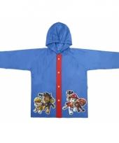 Paw patrol regenjas blauw voor jongens trend
