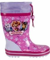 Paw patrol regenlaarzen voor meisjes trend