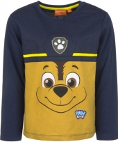 Paw patrol t-shirt chase navy trend