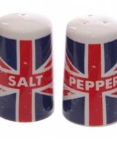 Peper en zout set union jack trend