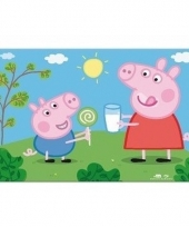 Peppa big 3d placemat type 1 trend