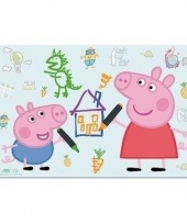 Peppa big 3d placemat type 2 trend