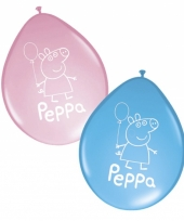 Peppa big ballonnen 8 stuks trend