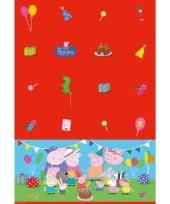 Peppa big tafelkleed 130 x 180 cm trend