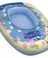 Peppa pig big opblaasbare boot 80 x 54 cm kids speelgoed trend