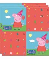 Peppa pig thema kinderfeest servetten 20 stuks trend