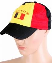 Pet met belgische vlag trend