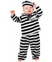 Peuter en baby verkleedkleding boef trend