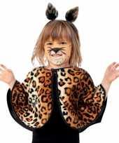 Peuter luipaard verkleed ponchos trend