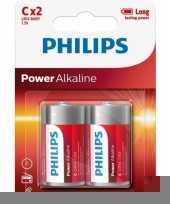 Philips 1 5 volt batterijen 2 stuks trend