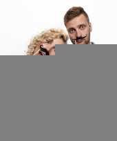 Photoprops snorren 6 stuks trend
