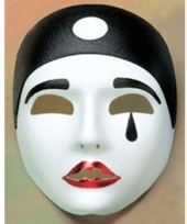 Pierrot decoratie maskers trend