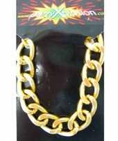 Pimp armbanden goudkleurig trend