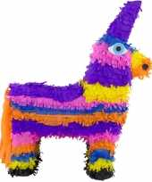 Pinata gekleurde ezel 55 cm trend 10199992