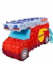 Pinatas brandweerwagenvorm 52 cm trend