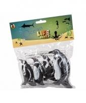 Pingu n familie gemaakt van rubber 4st trend