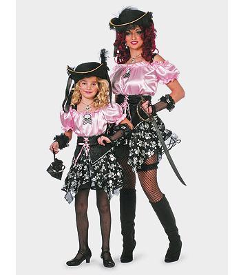 Piraat carnavals kleding dames trend