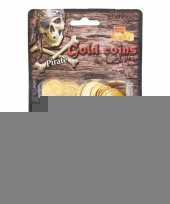 Piraat munten goud 130 stuks trend
