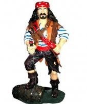 Piraten decoratie op ton 180 cm trend