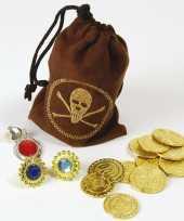 Piraten schat buidel met goudstukke trend