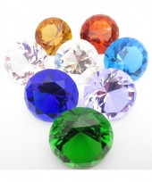 Piraten schat diamant rood 4 cm trend