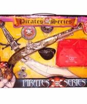 Piraten speelgoeddoos zwaarden en geweren trend