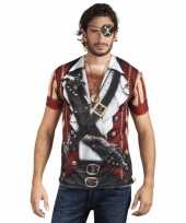Piraten t-shirt met lange mouwen trend