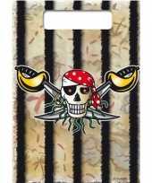 Piraten verjaardag kado zakjes 16x trend