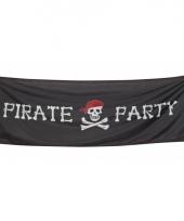 Piraten vlaggen 74 x 220 cm trend