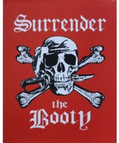 Piraten wandversiering surrender trend