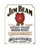 Plaat van jim beam trend