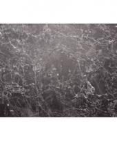 Placemat marmer zwart 46 x 30 5 x 0 2 cm trend