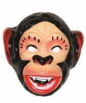 Plastic apen masker voor volwassenen trend