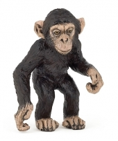 Plastic baby chimpansee 5 cm trend