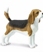 Plastic beagle hond 6 cm trend