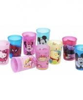 Plastic beker met plaatjes van minnie mouse trend