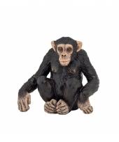 Plastic chimpansee 6 cm trend