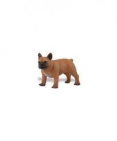 Plastic franse bulldog speelgoed dier 7 cm trend