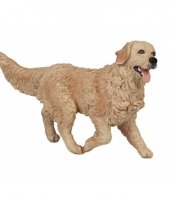 Plastic golden retriever 10 cm trend
