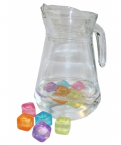 Plastic ijsblokjes 10 stuks trend