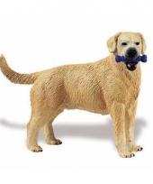 Plastic labrador retriever hond 9 cm met bot trend