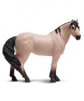 Plastic mustang paard 12 cm trend