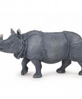 Plastic neushoorn 14 cm trend