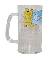 Plastic oktoberfest bierpul 14 cm trend
