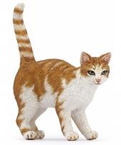 Plastic rode huisdier kat 5 cm trend