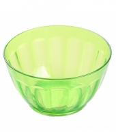 Plastic schaaltje groen 14 cm trend