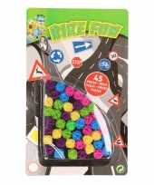 Plastic spaakkralen 90 stuks trend