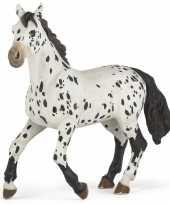 Plastic staand appaloosa paard 13 cm trend